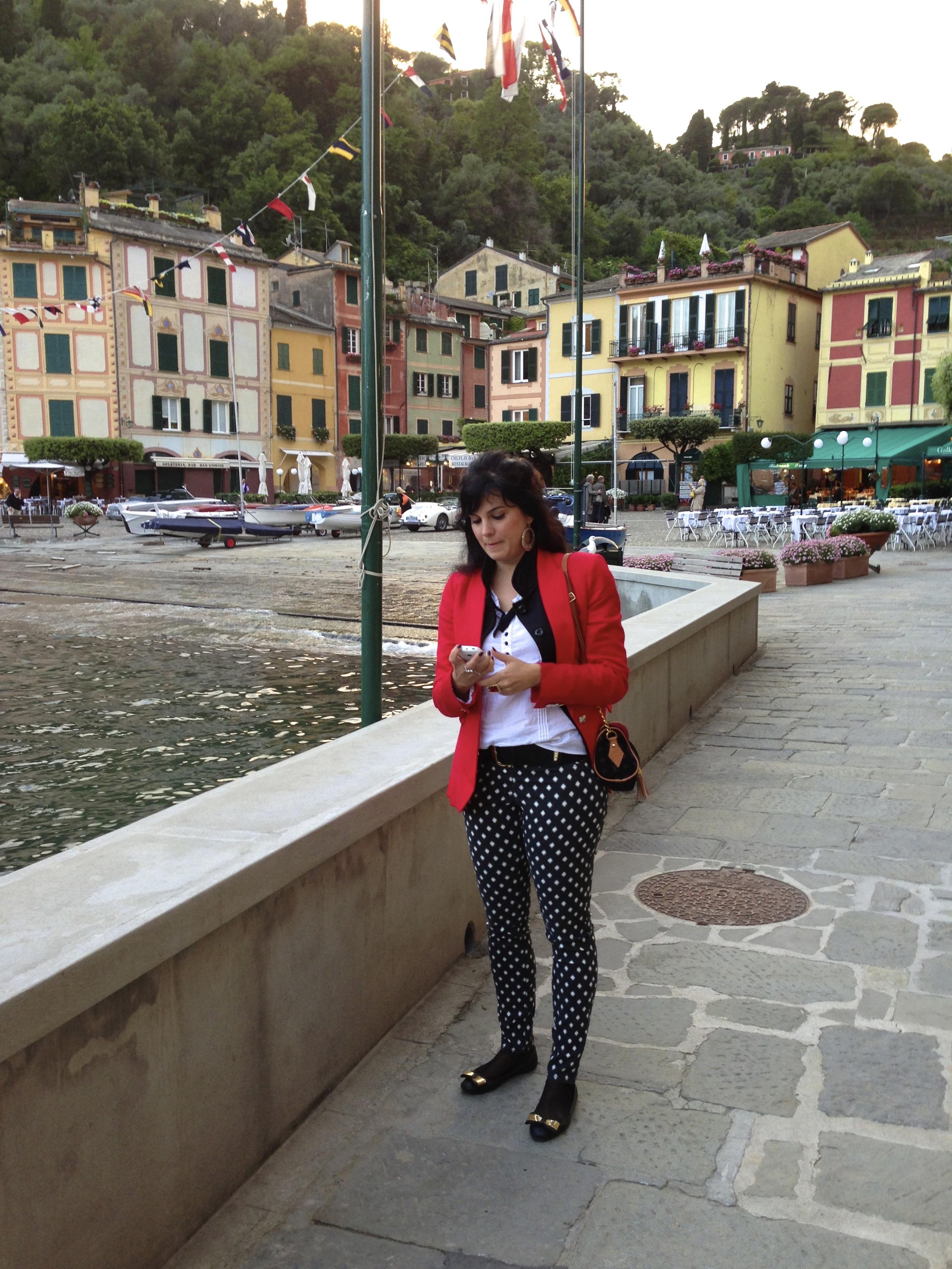 Lulu em Portofino