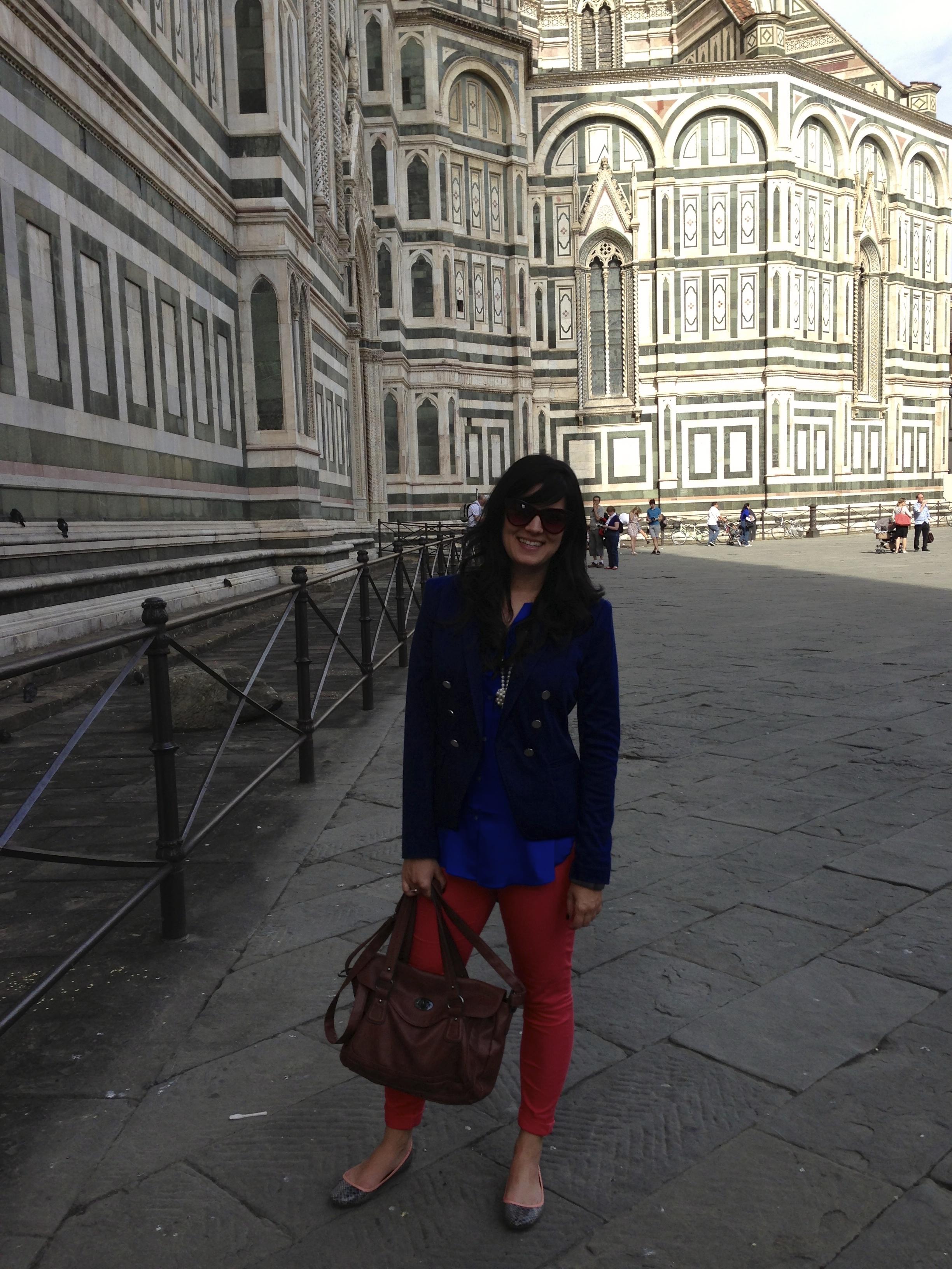 Lulu em Florença