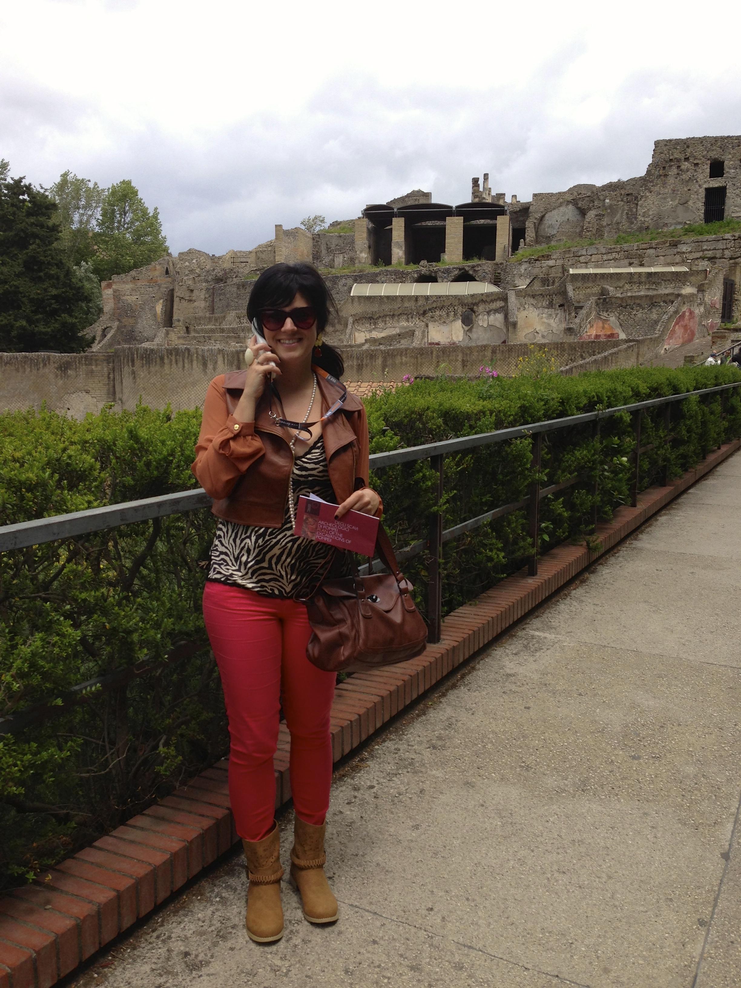 Lulu em Pompeia