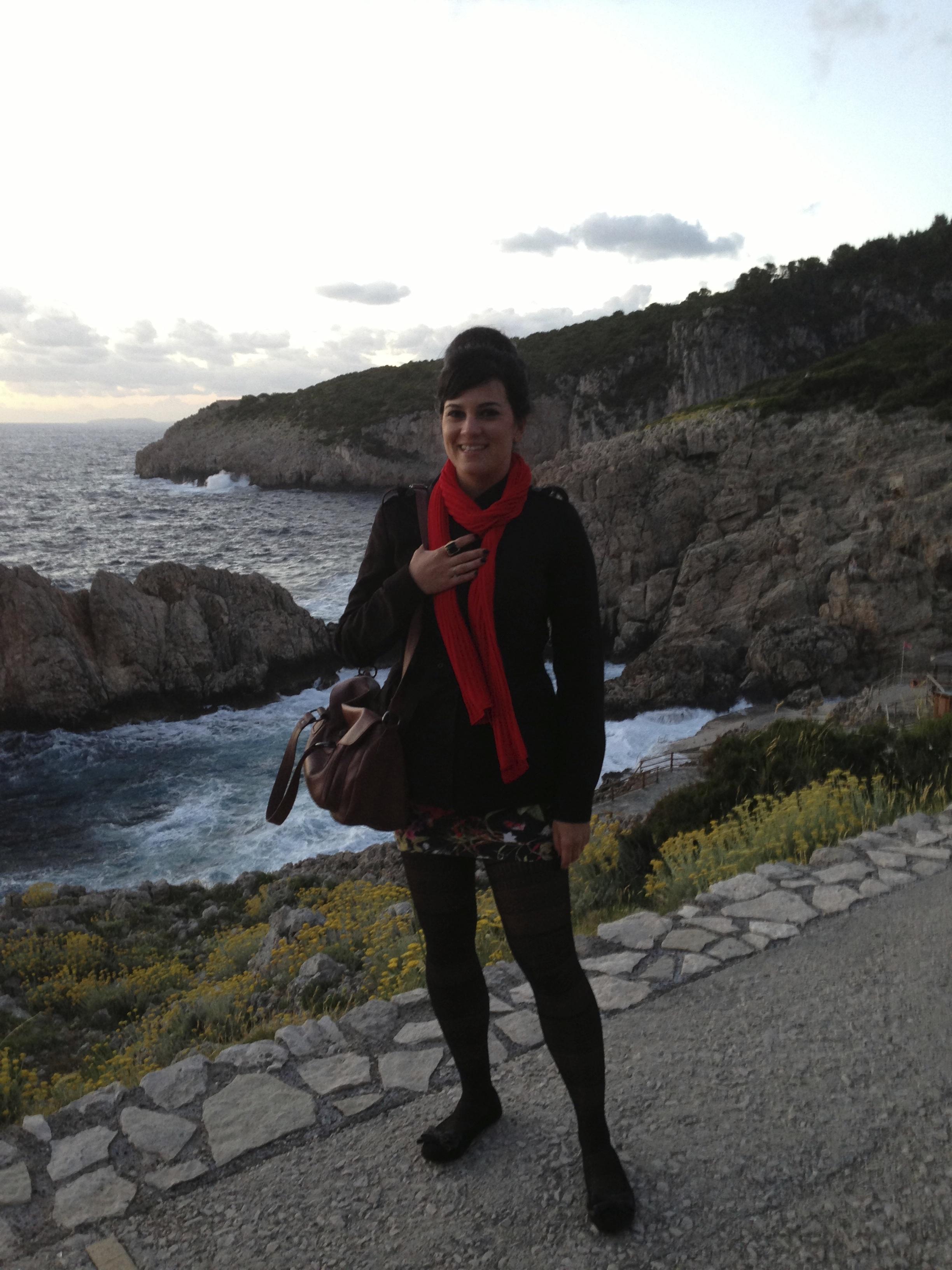 Lulu em Capri