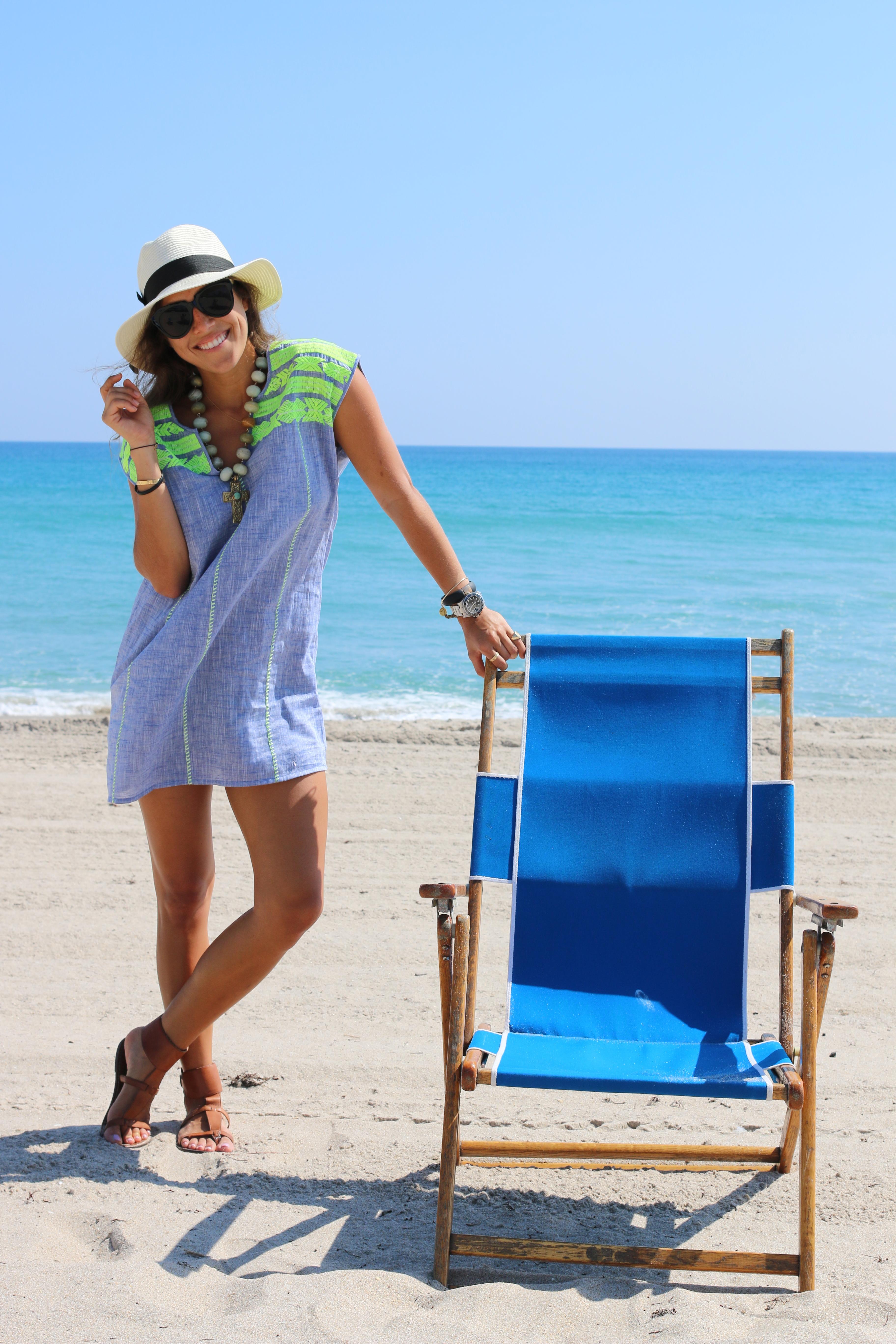 O que vestir nas praias Santorini
