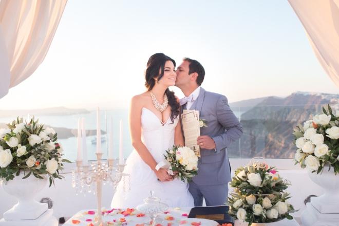 casamento em Santorini Decoração casamento