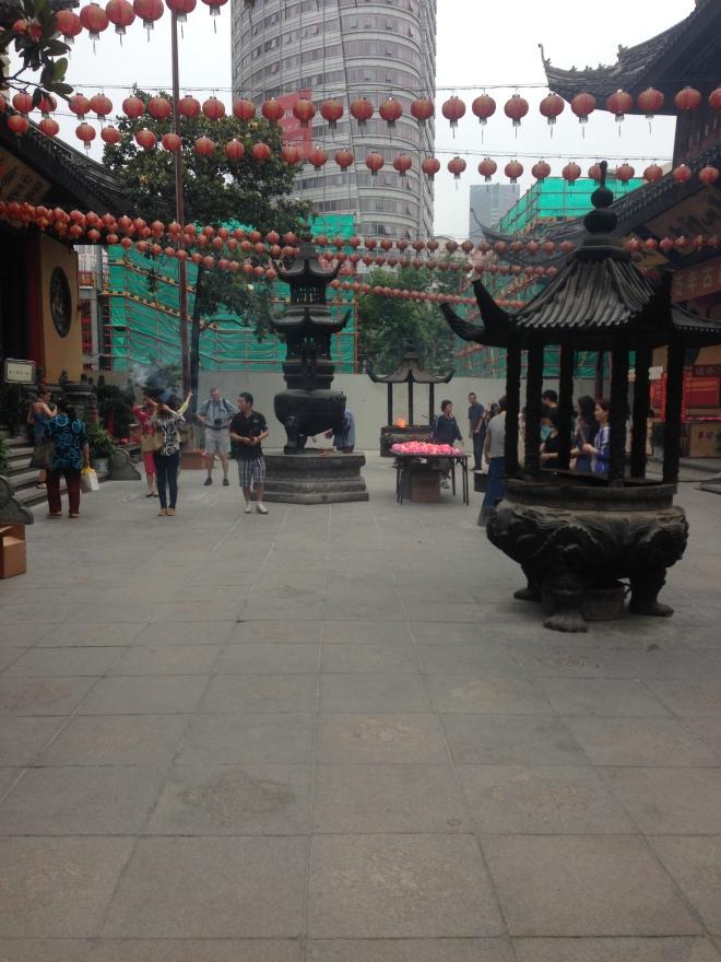 China Jade buda templo