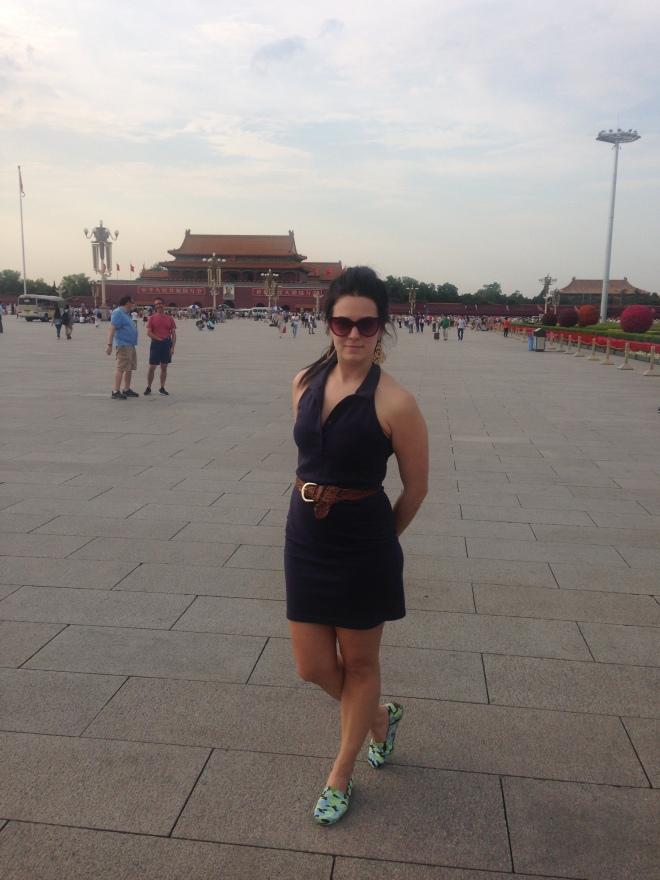 china praça da paz celestial pequim