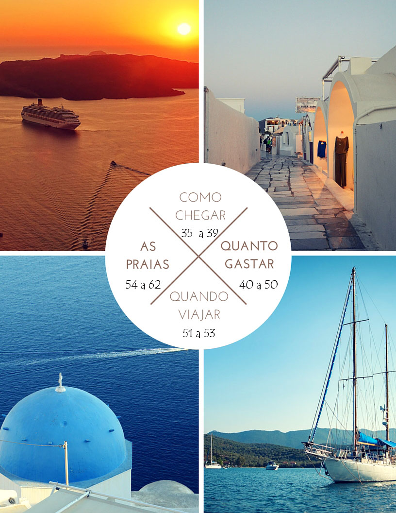 Dicas de Santorini