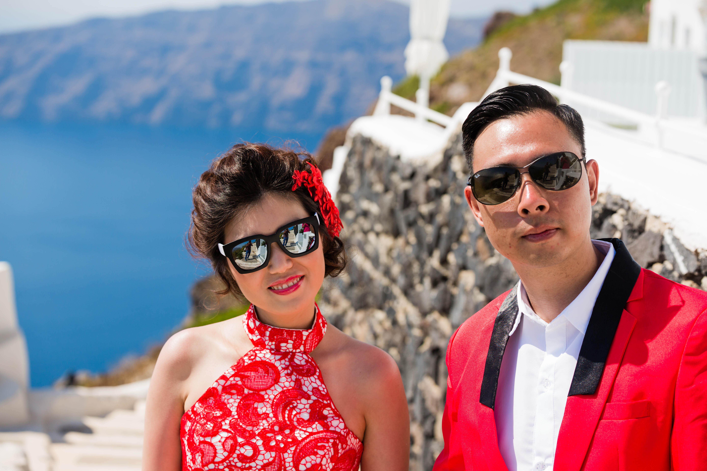 Fotos Casamento em Santorini 12