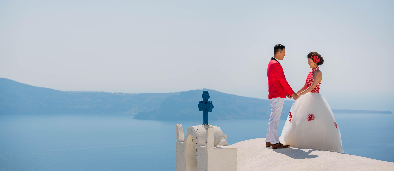 Fotos Casamento em Santorini 14