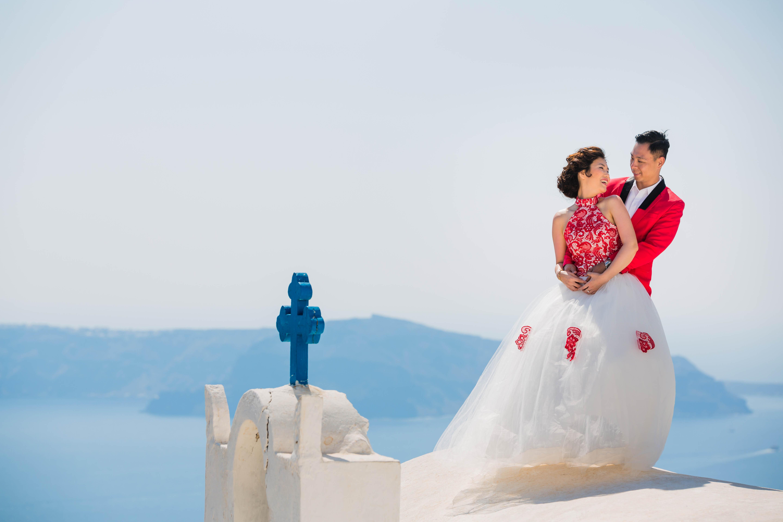 Fotos Casamento em Santorini 15