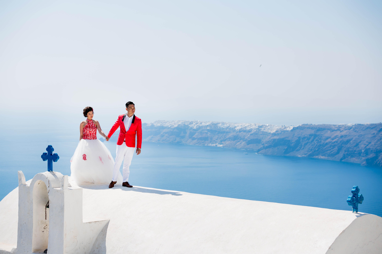 Fotos Casamento em Santorini 16