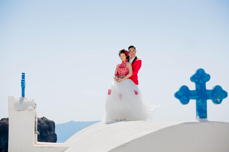 Fotos Casamento em Santorini 17