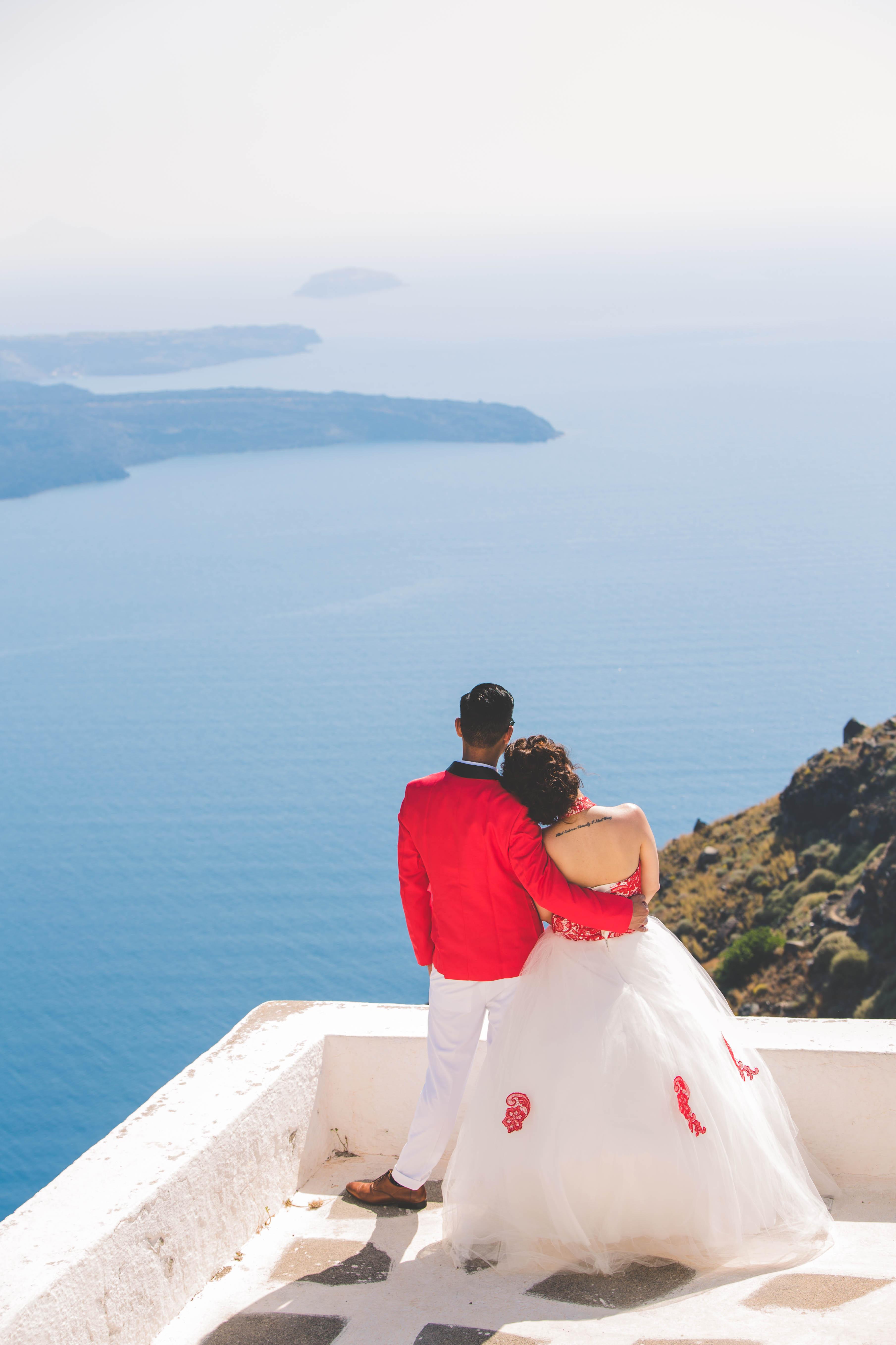 Fotos Casamento em Santorini 20