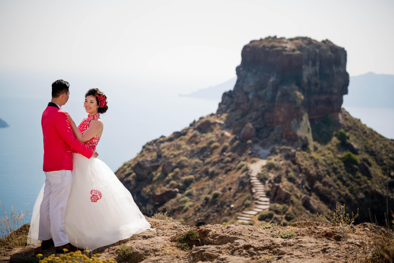 Fotos Casamento em Santorini 22