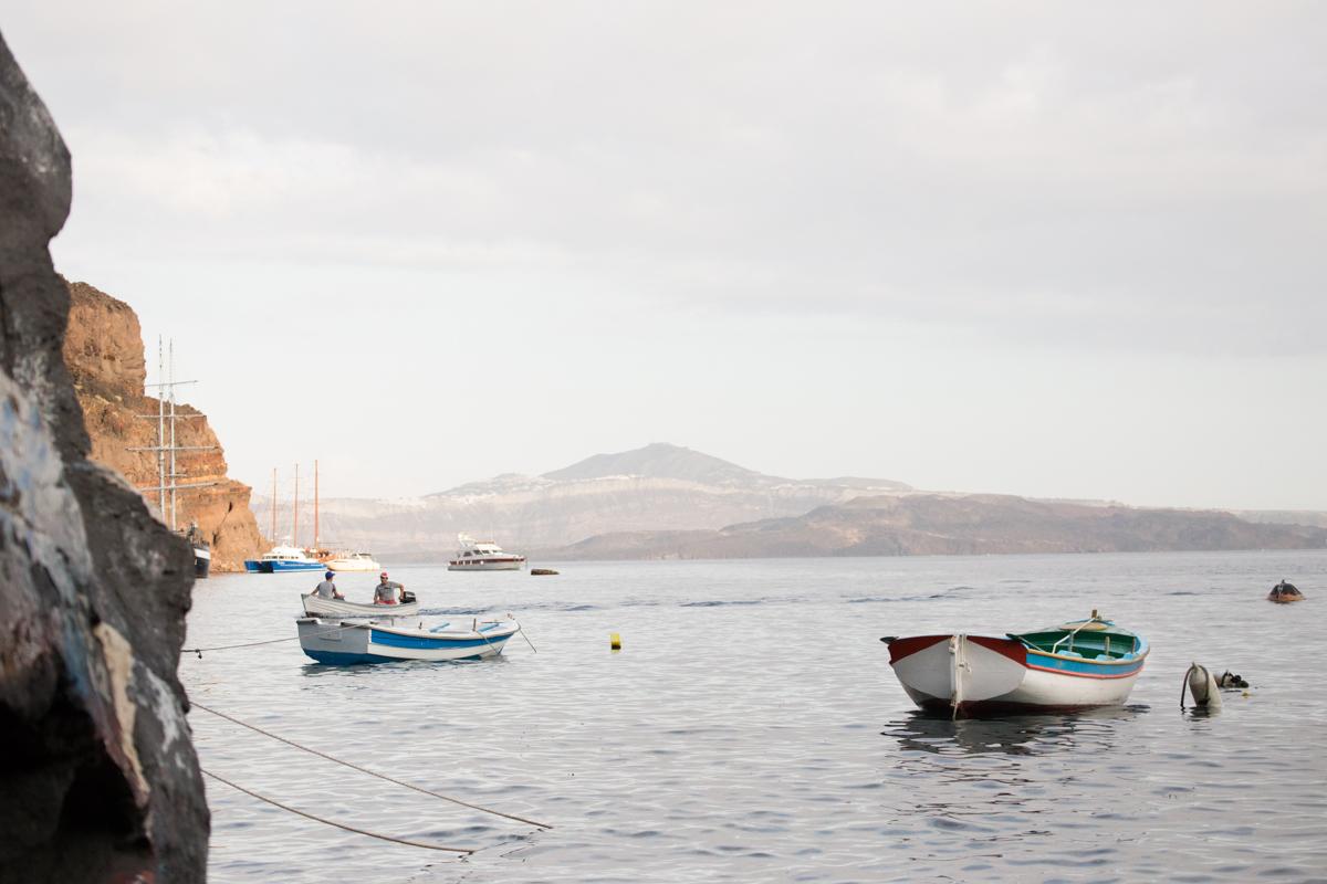 Casamento em Santorini Thirasia