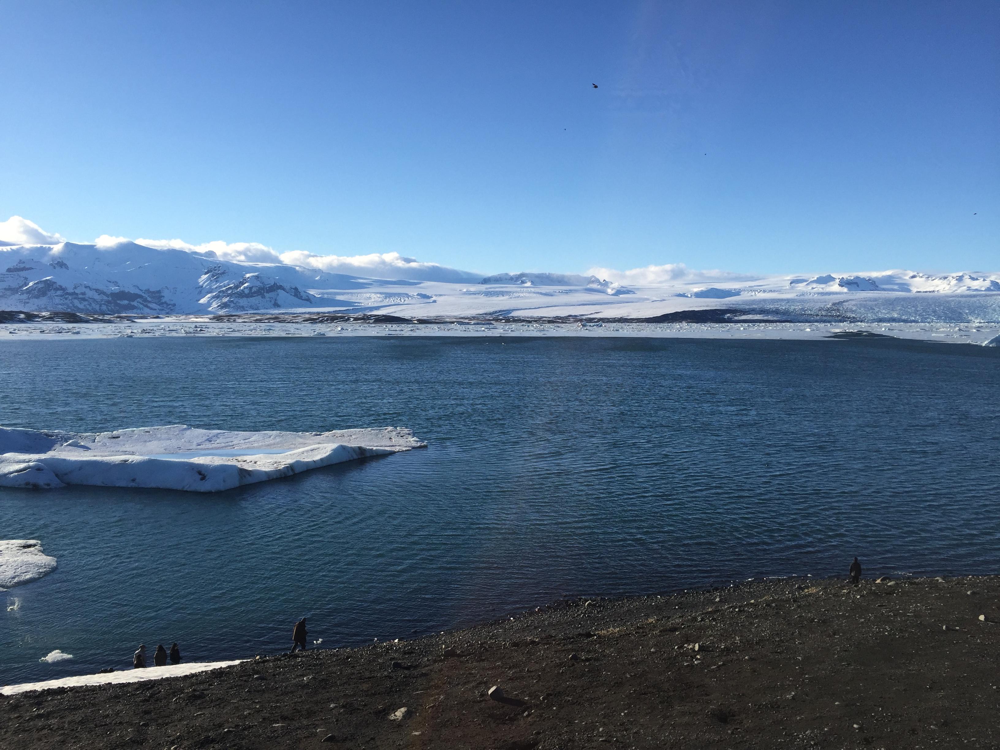 Jokulsarlon Lagoa glacial islândia