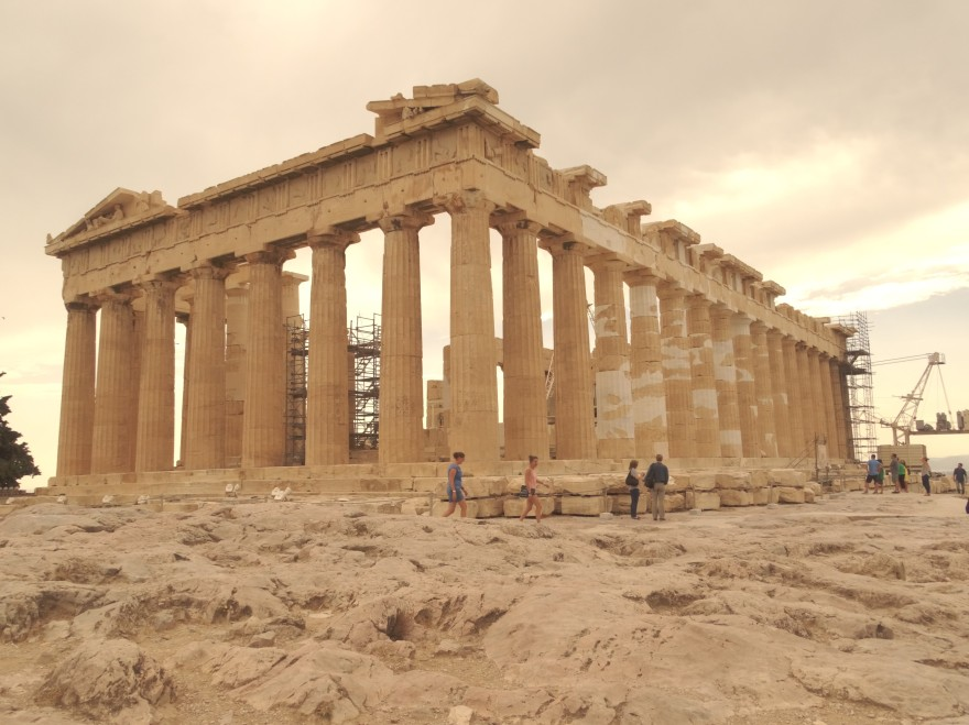 Acrópole de Atenas Grécia